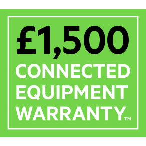 Belkin £1,5000 Connected Equipment Warranty Icon