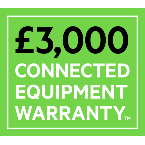 £3,000 CONNECTED EQUIPMENT WARRANTY