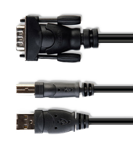 Cables for a secure KVM switch