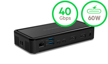 Thunderbolt 3-dock PLUS