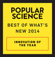 "WEMO Maker™ named one of Popular Science's ""Best of What's New 2014"" award winners."