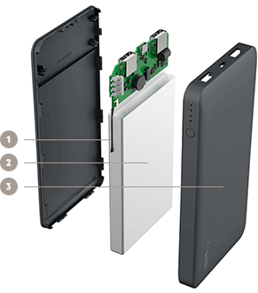 BELKIN 10K POWER BANK KEY FEATURES