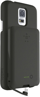 Belkin Shield Power 1800 for Samsung Galaxy S5--One Battery Works for Multiple Micro-USB Devices