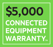 $5,000 CONNECTED EQUIPMENT WARRANTY