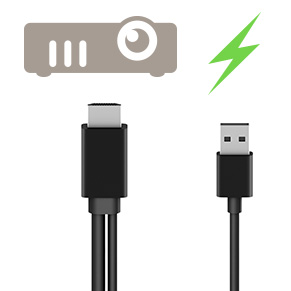USB-A Power Cable