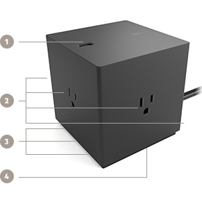 BOOST↑CHARGE 8-Port Charging Station Key Features