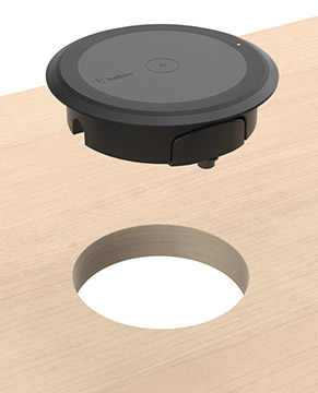 BOOST↑UP Wireless Charging Spot Surface Installation