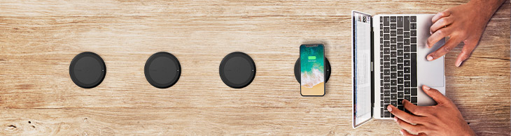 Four Wireless Charging Pads