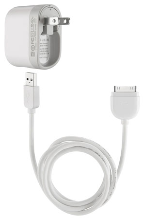 Swivel Charger with 30-Pin to USB Cable