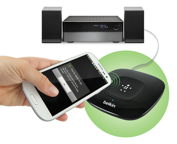 Stream HD Audio from Smartphone to Stereo
