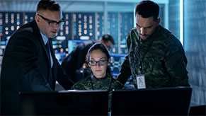 Military Cybersecurity Team