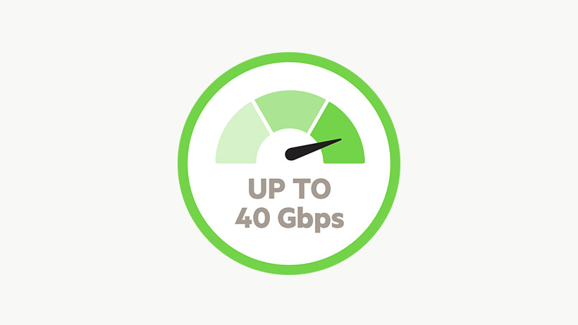 40Gbps-pictogram