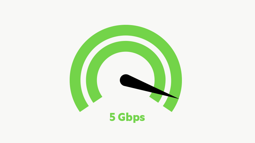 5 GPS speed icon