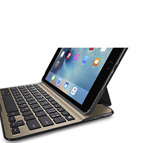 Funda con teclado Ultimate Lite de Belkin para iPad mini 4