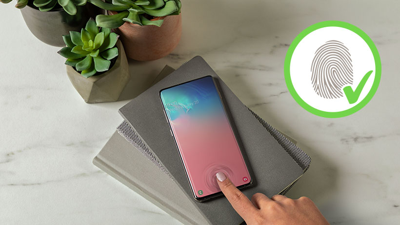 SCREENFORCE™ InvisiGlass Curve Screen Protection for Samsung Galaxy S10