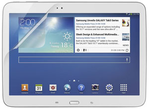 TrueClear Transparent Screen Protector for Galaxy Tab