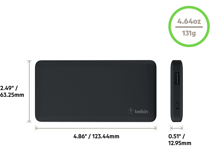 BELKIN POCKET POWER 5K DIAGRAM
