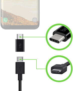 Pocket Power 5K + USB-C/Micro-USB-adapter