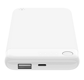 BOOST↑CHARGE-powerbank 5K met Lightning-connector