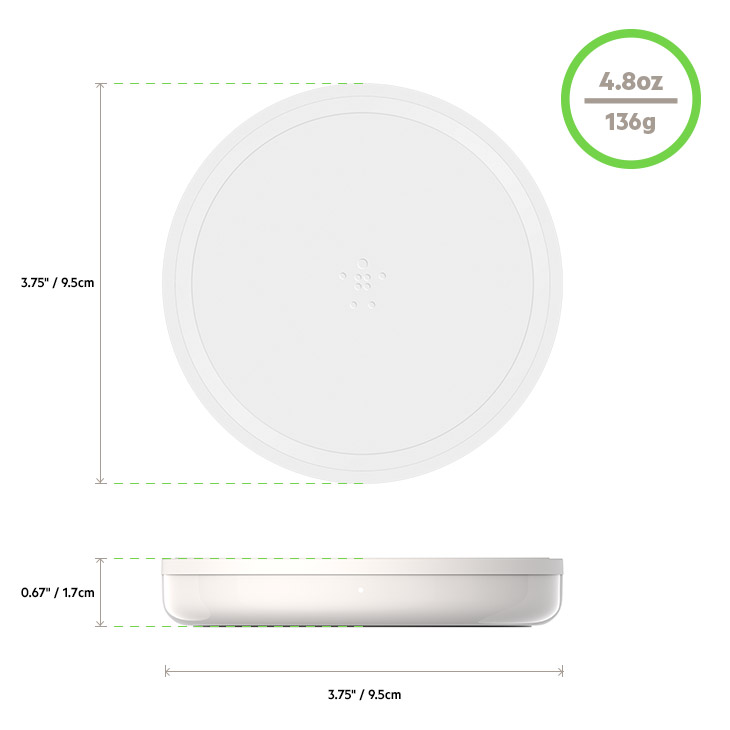 Wireless Charging Pad Dimensions