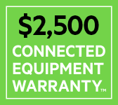 $2,500 CONNECTED EQUIPMENT WARRANTY