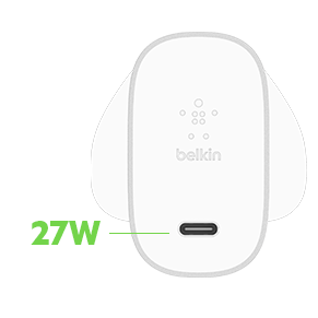 BOOST↑ CHARGE™ 27W USB-C™ Home Charger