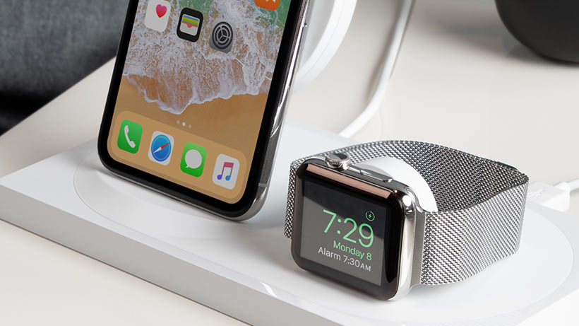 Apple Watch on the BOOST↑UP Wireless Charging Dock