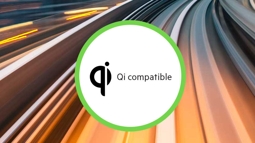 Qi compatible icon