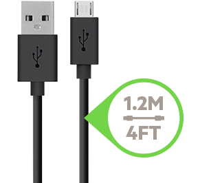 1.2 meter Micro-USB to USB cable
