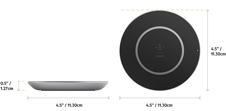 belkin boost u2191up u2122 wireless charging pad for samsung