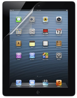TrueClear Transparent Screen Protector for iPad