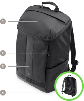 ACTIVE PRO BACKPACK KEY FEATURES