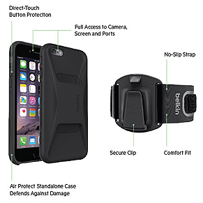 Clip-Fit iPhone 6 Removed From Armband