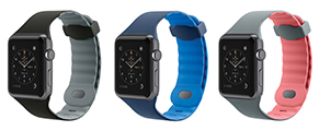 The Sport Band comes in a choice of three sporty colors