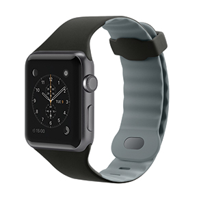 Apple Watch with a watch band