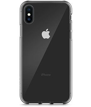 Funda protectora SheerForce InvisiGlass para iPhone X