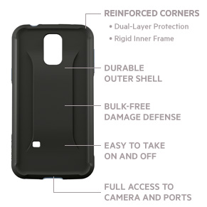 AIR PROTECT™ Grip Max Protective Case for GALAXY S5