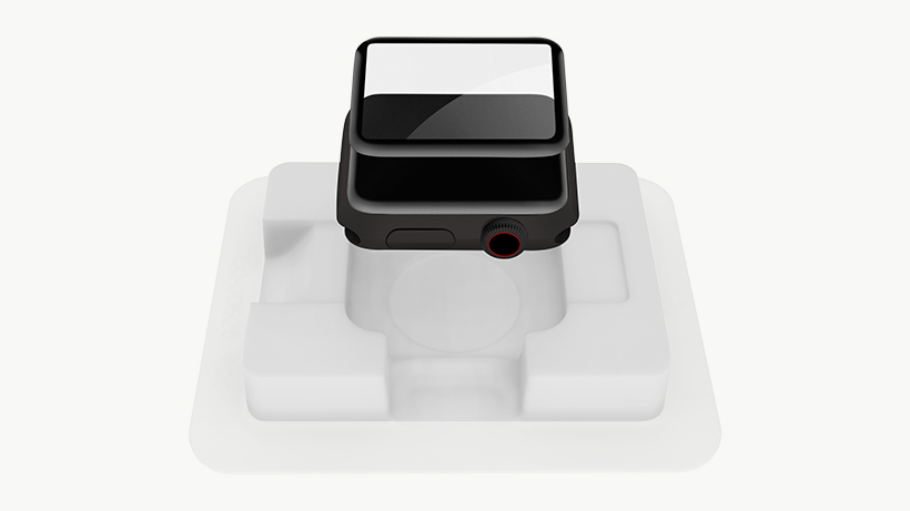 Apple Watch in the Easy Align Tray