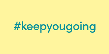 Hashtag keep you going