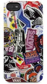 Vans Sticker Collage Case for iPhone 5