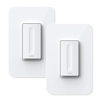 Wemo WiFi Smart Dimmer 2-Pack