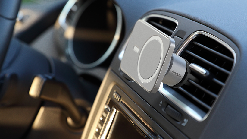 MagSafe Car Vent Mount PRO shown in car