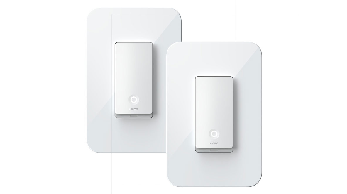 Wemo Light Switch 3-Way, 2-Pack