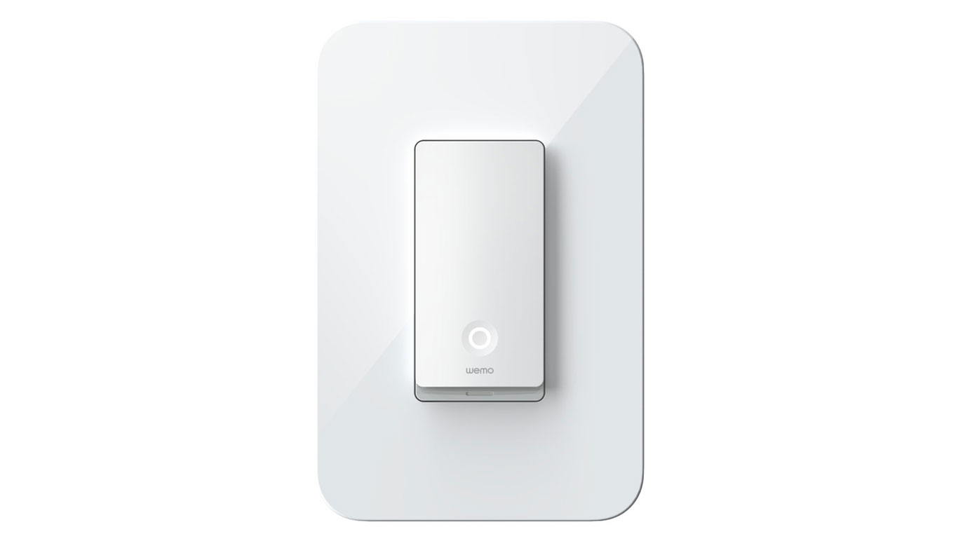 Front of the Wemo Light Switch