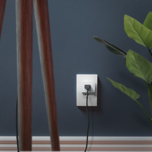 Wemo WiFi Smart Plug in Living Room