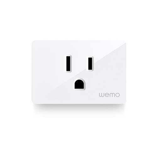 Wemo WiFi Smart Plug Product Shot