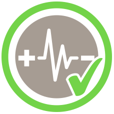fast charging safety icon
