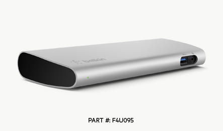 Thunderbolt 3 Express Dock HD de Belkin