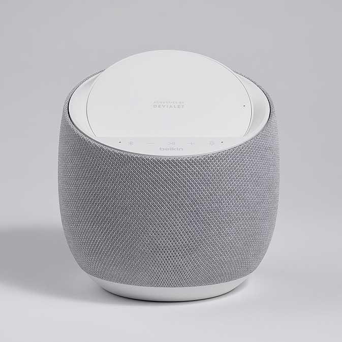 Belkin G1S0001 Soundform Elite Smart Speaker image, white, front view