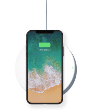 Cargador inalámbrico para iPhone X